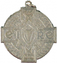 Silver 50mm Budget GAA Medal